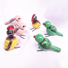 Etikoppaka - Wooden Birds Pair (Small)