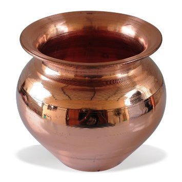 Copper Kalasam- Medium Size