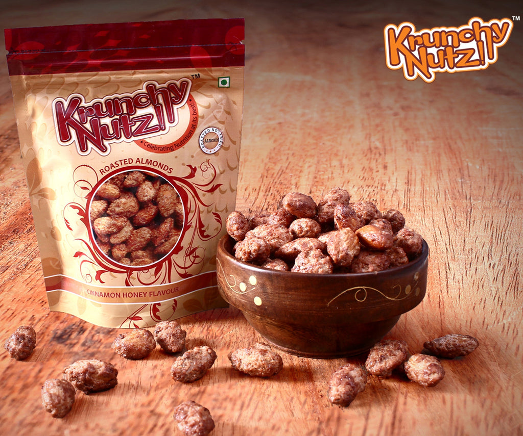 Krunchy Nutz - Cinnamon Honey Almonds