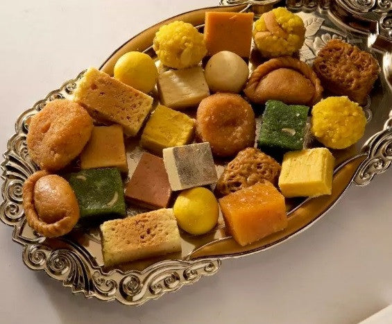 Assorted Sweets from Pulla Reddy Sweets