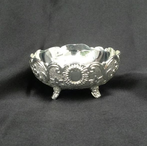 Silver Coated Designer Bowl - Item Code 234
