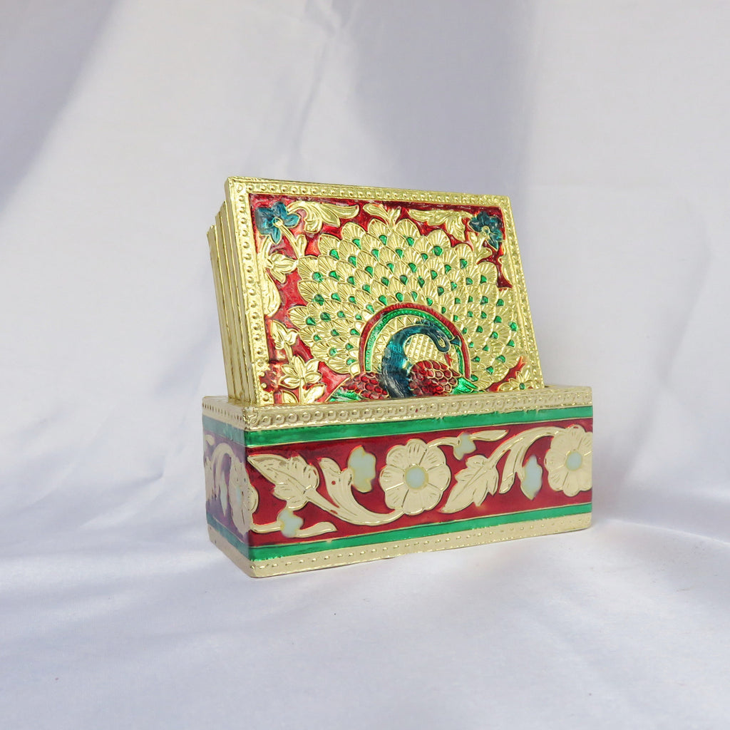 Meenakari Tea Coaster