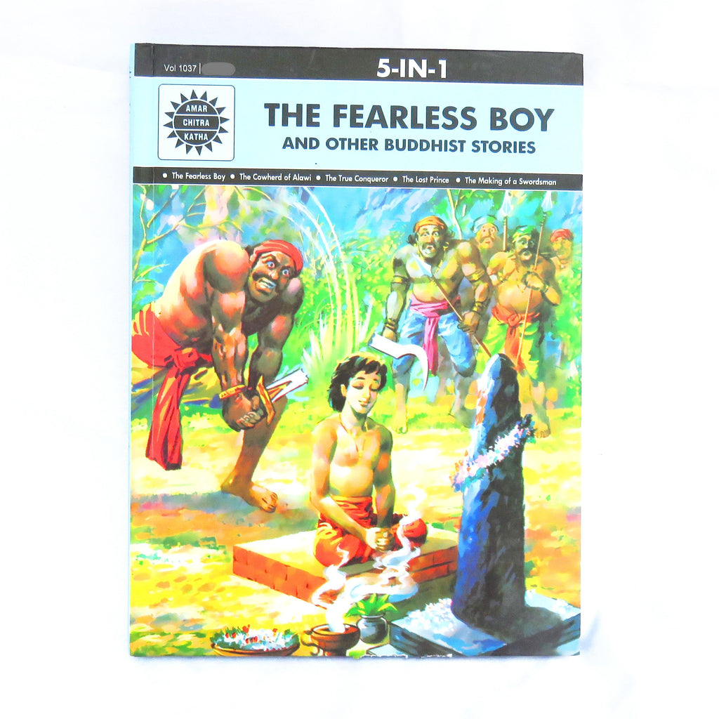 The Fearless Boy -Story Book