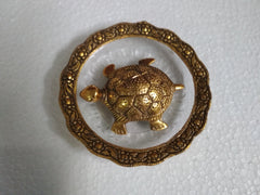Chinese Feng Shui Tortoise Turtle Brass Statue
