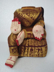Mahalakshmi cloth idol without face