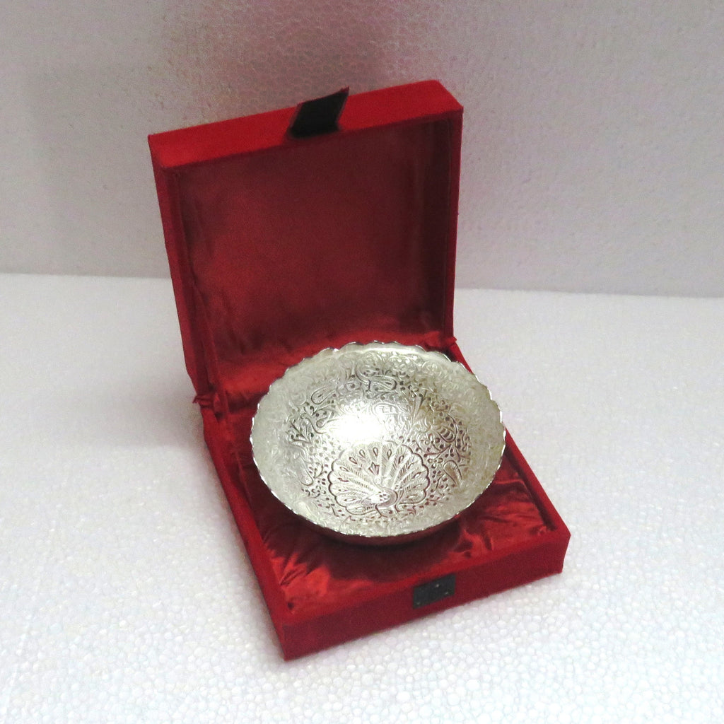 Bowl Silver Plated - Item Code 295