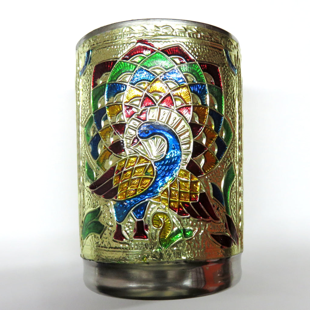 Gold crafted metal cup
