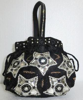 Pearl Beaded Purse (Heavy Design)