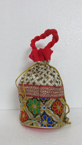 Flower Designer Potli Bag