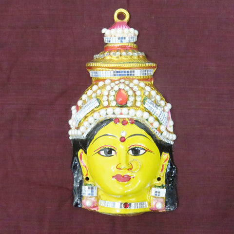 Goddess Mahalaxmi Face Set Idol