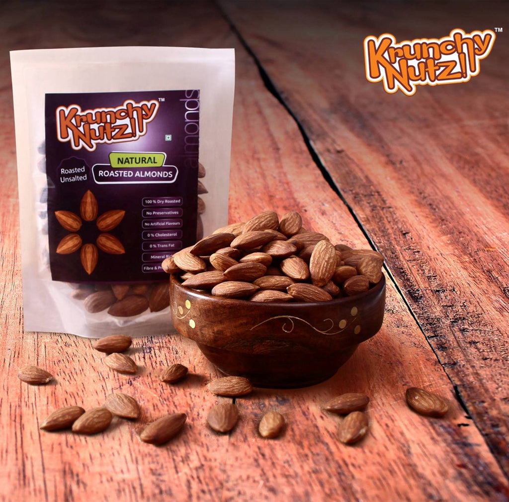 Krunchy Nutz - Roasted Unsalted Almonds