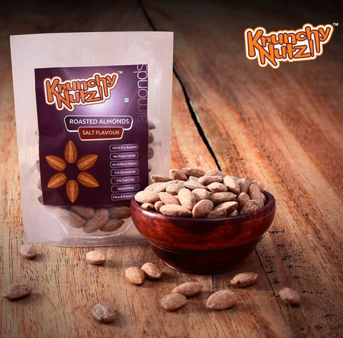 Krunchy Nutz - Roasted Salted Almonds