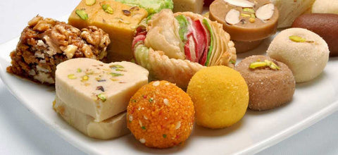 Assorted sweets from Dadu'S Mithai Vatika