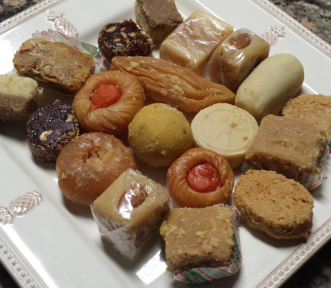 Assorted sweets from Paruchuri Swagruha Foods