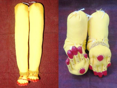 Mahalaxmi Cloth Hands and Legs Set