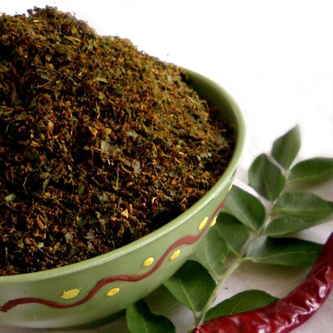 Karivepaku Podi/Curry Leaves Powder