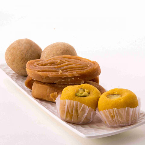 Assorted sweets from Nirmala Swagruha Foods