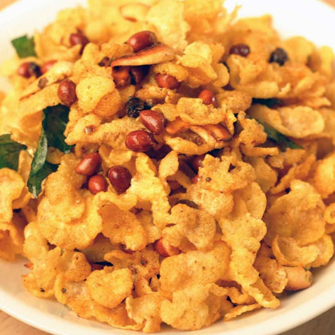 Corn Flakes Chudwa (Spicy Snack)