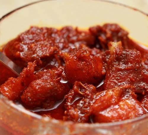 Country Chicken Pickle (Natu Kodi)