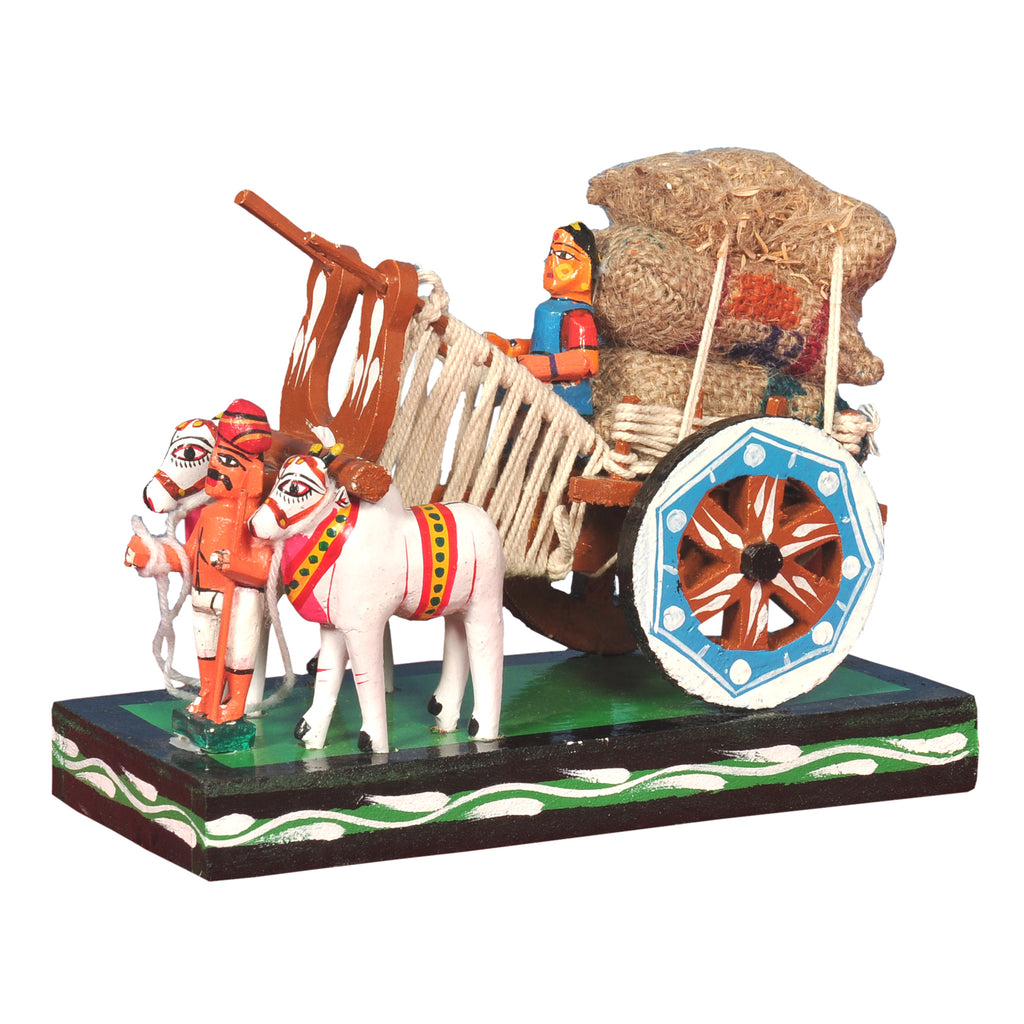 Kondapalli Showpiece Bullock Cart