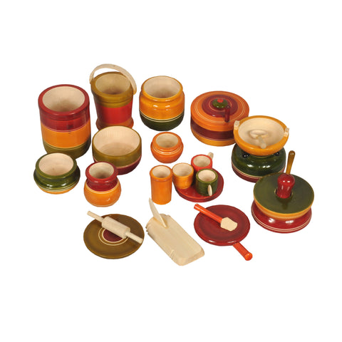 Kondapalli Big  Size Cooking Set - 15 items