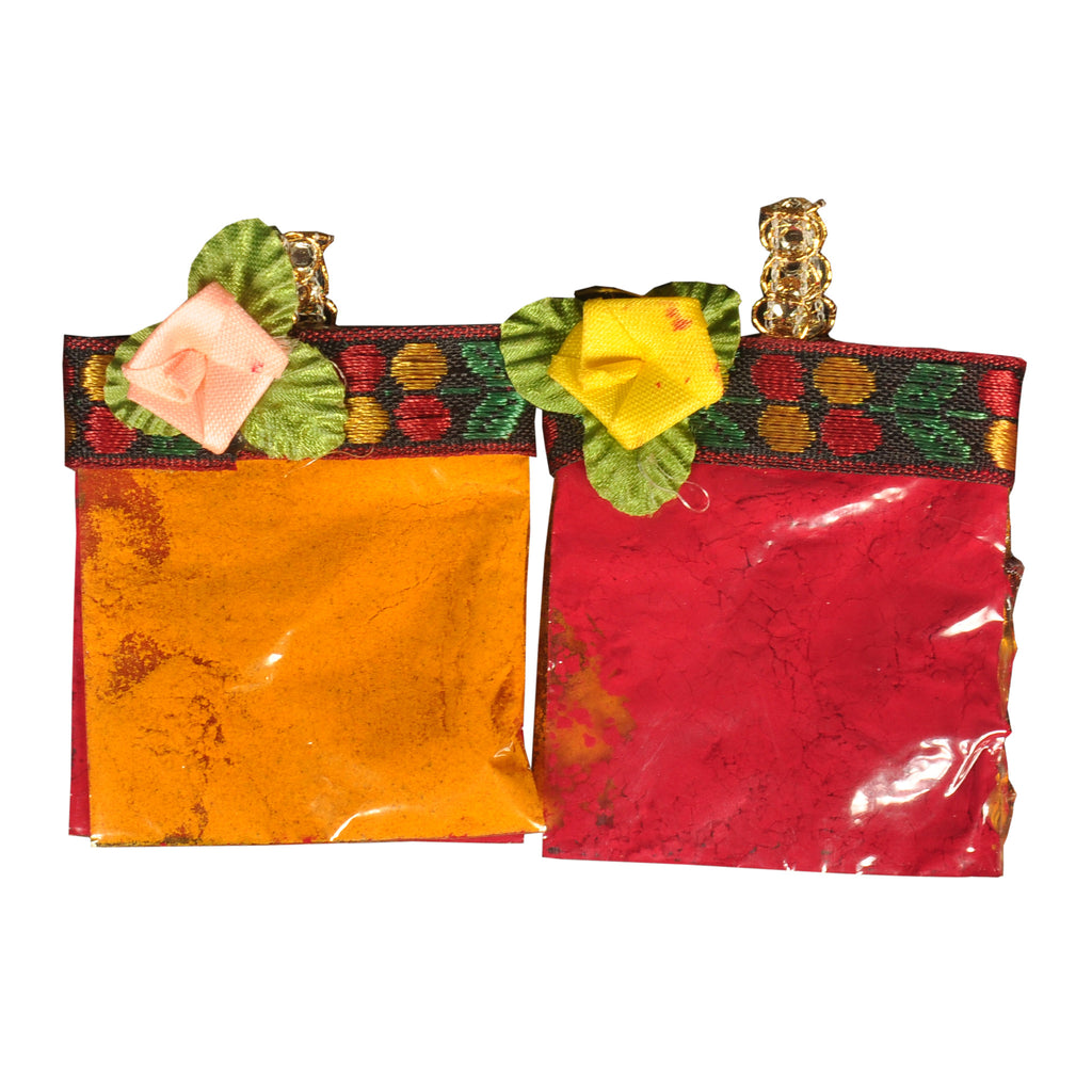 Pasupu And Kumkum  Pouches