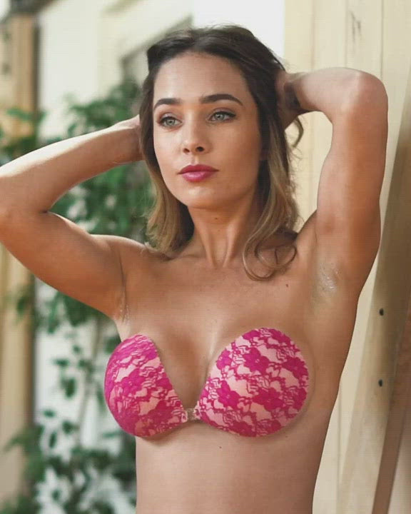 After Party Lace Adhesive Bra