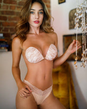 flyrt nude lace adhesive bra