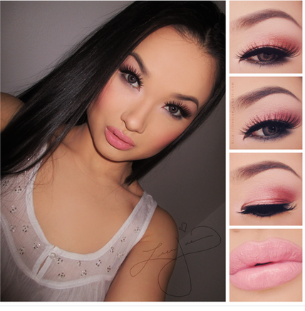 Easy Romantic Smokey Eye Makeup Look