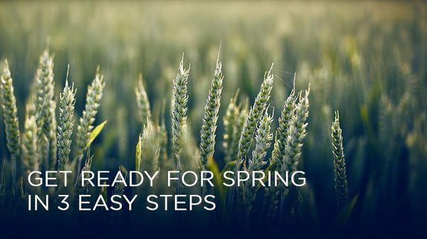 Get Ready for Spring in 3 Easy Steps