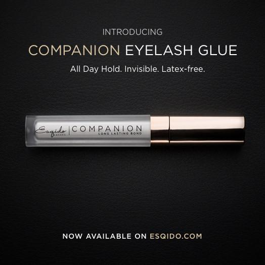 "Introducing the ""Companion"" Eyelash Glue!"