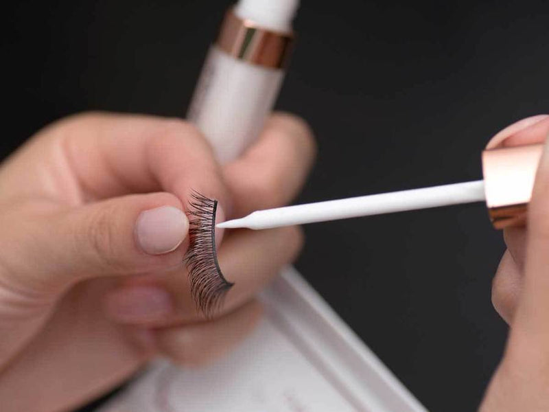 Applying the Companion Eyelash Glue