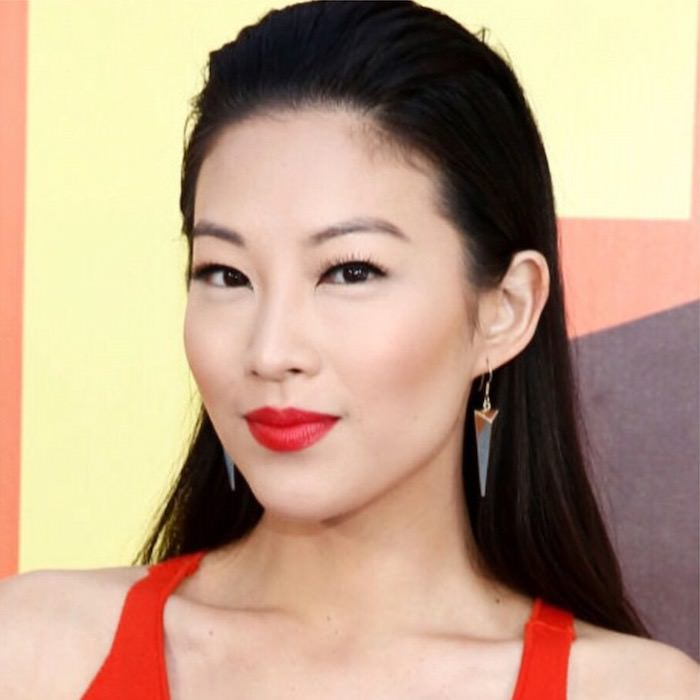 Arden Cho wearing ESQIDO Little Black Lash mink lashes