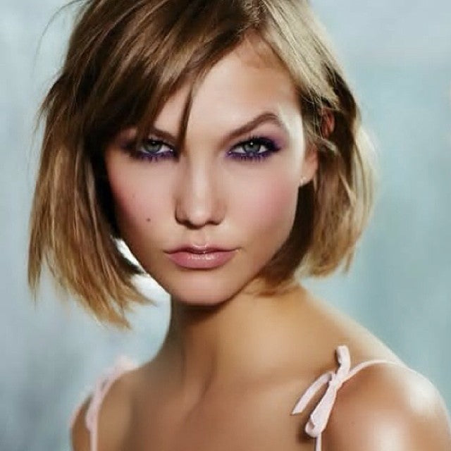 Karlie Kloss wearing ESQIDO BFF mink lashes
