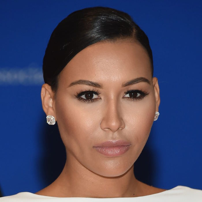 Naya Rivera wearing ESQIDO Lashlorette mink lashes