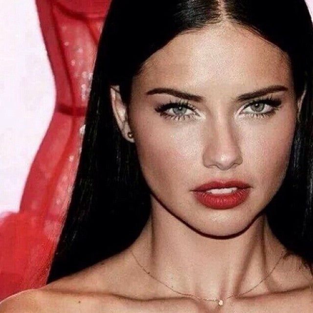 Our false lashes as seen on Adriana Lima