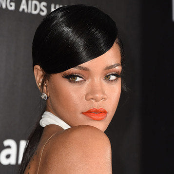 Our fake eyelashes as seen on Rihanna