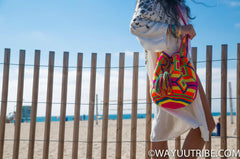 Pop of Color, Wayuu Tribe Bags