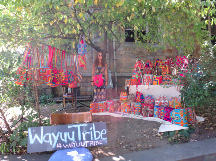 Wayuu Tribe Bags in NYC