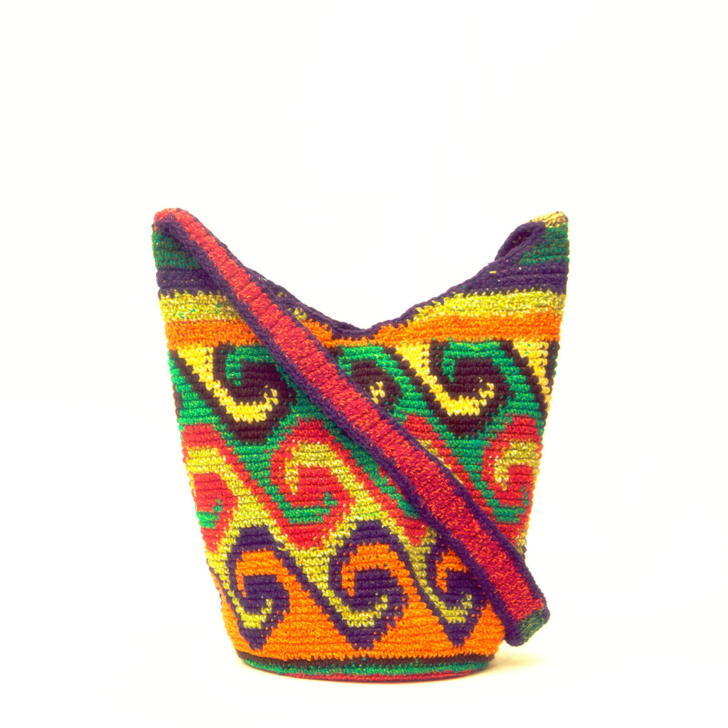 25 % OFF Handwoven Should Bag - Wayuu Tribe - MOCHILAS WAYUU BAGS