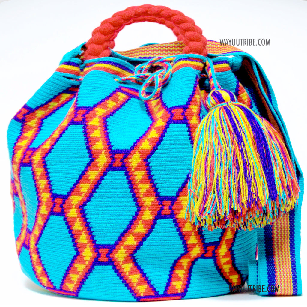 Limited Edition Hermosa Wayuu Bag - MOCHILAS WAYUU BAGS
