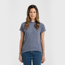 Load image into Gallery viewer, Tultex 241 - Unisex Poly-Rich Tee (Single Color + Two Side Screen Print)