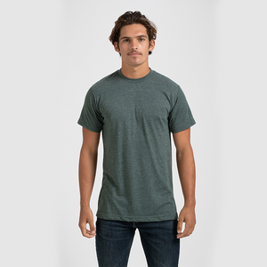 Tultex 241 - Unisex Poly-Rich Tee (Embroidered Left chest)