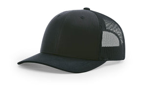 Richardson 112 Trucker Hat (Embroidered Patch)