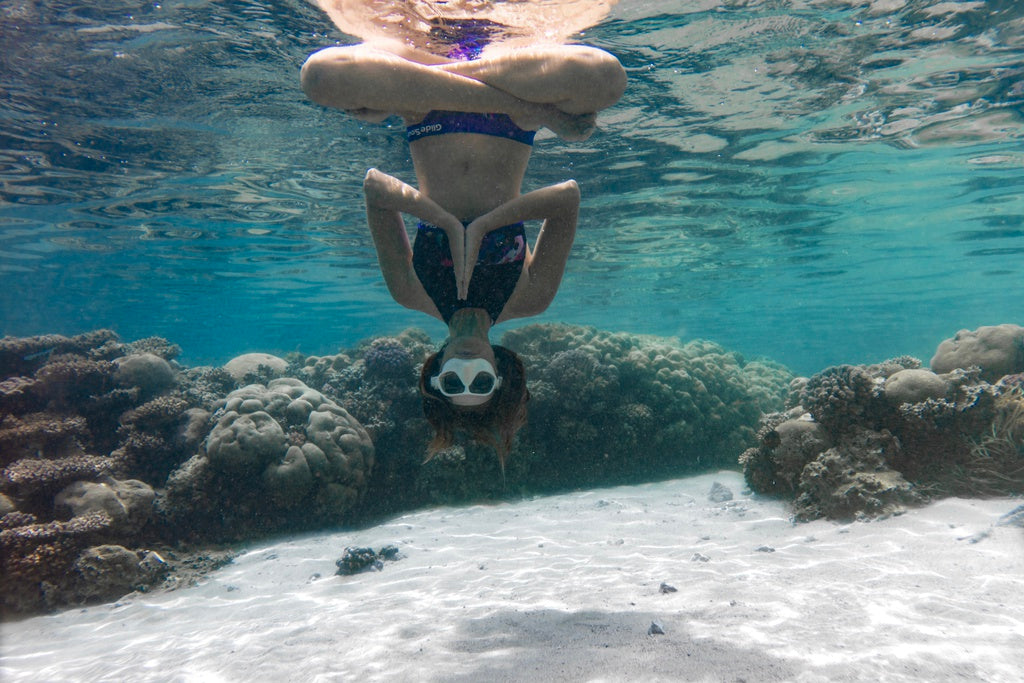 Why not try Freediving with a side of Yoga!