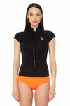 FlashBack 74 1 MM Short Sleeve Front Zip Springsuit