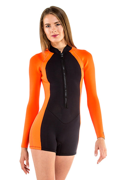 Signature 2 MM Front Zip GBS Springsuit