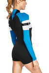 FlashBack 74 2 MM Back Zip FLT Springsuit