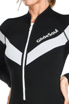 FlashBack 74 2 MM Long Sleeve Front Zip Flatlock Springsuit