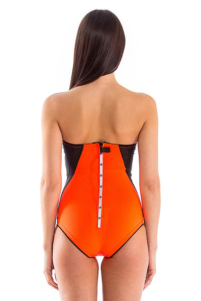 Signature Bandeau One Piece Swimsuit